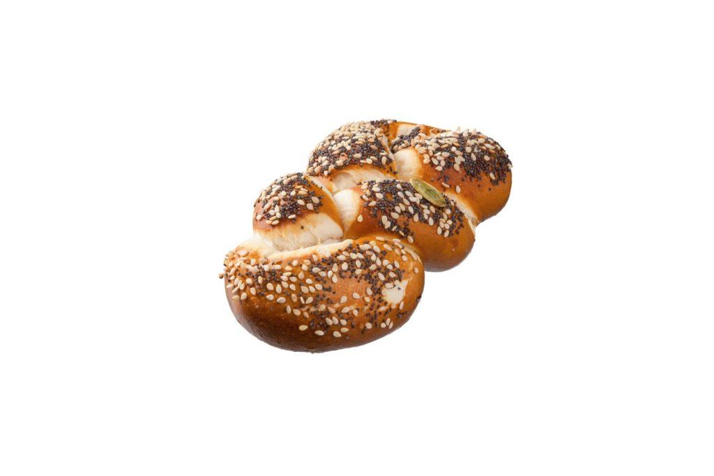 Produktfreisteller für die Herzberger Bäckerei – Laugenzopf