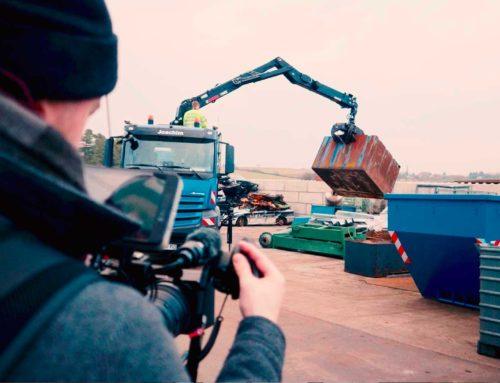 Werbefilm & Fotos für HIAB