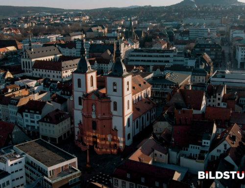 Luftaufnahmen von Fulda – Corona-Pandemie