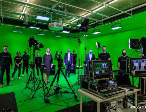 Einweihung des neuen Greenscreen Studios in Fulda
