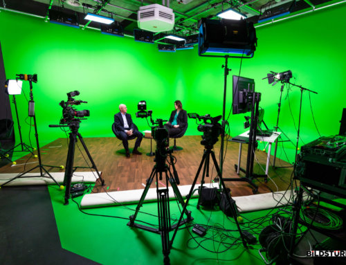 VTL – LIVE-Streaming und virtuelles Studio vor Greenscreen