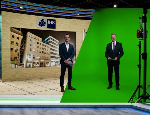 Virtuelle Produktion im digitalem TV-Studio – IHK Jahresempfang 2021